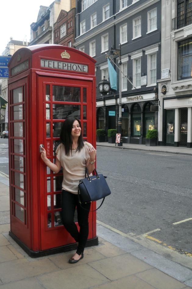 budka londyn