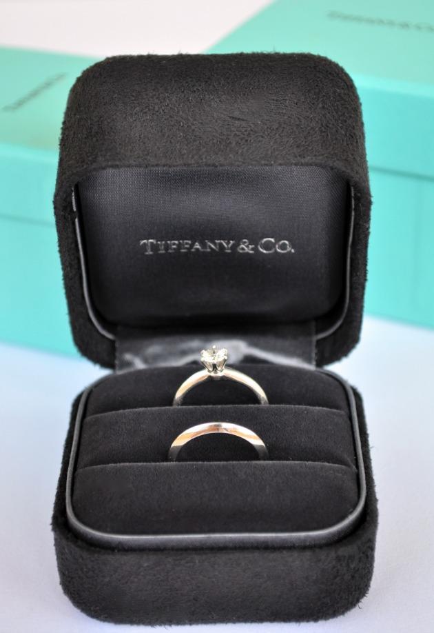 pierścionek zaręczynowy tiffany
