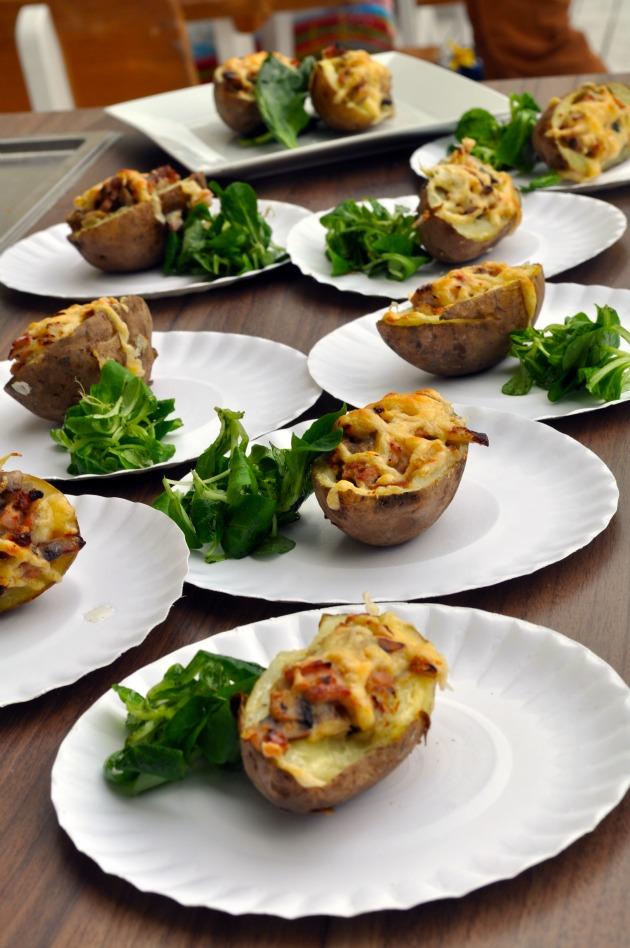 ziemniaki faszerowane przepis