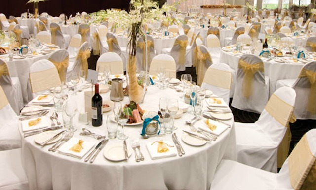 round tables wedding