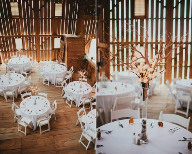 wesele stoły okrągłe