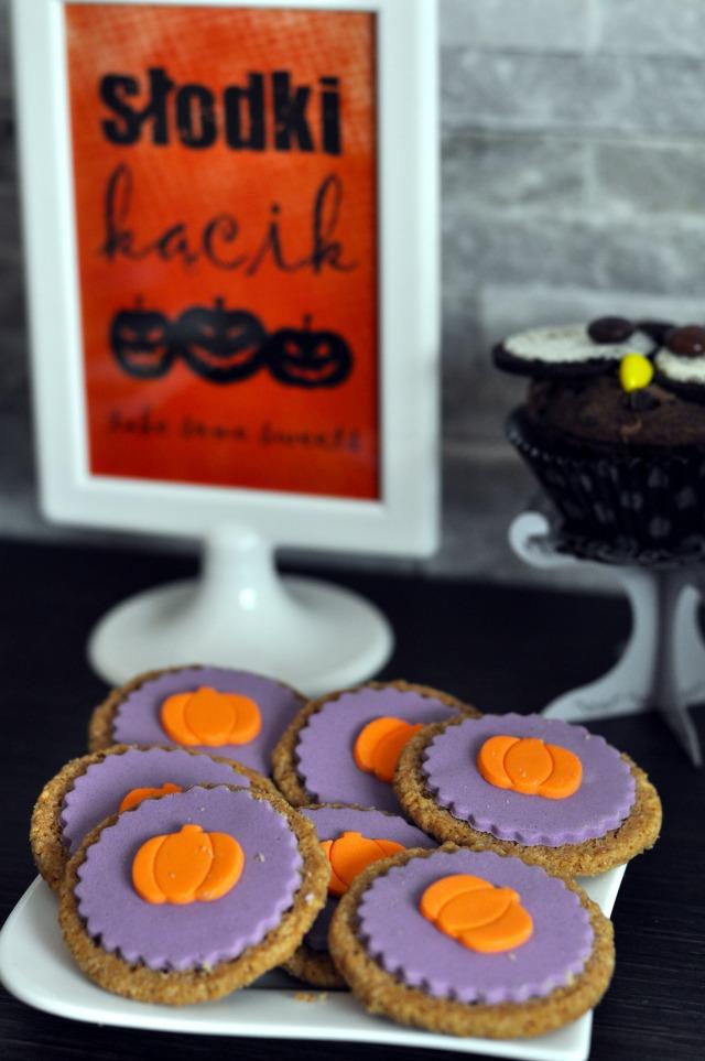 ciastka halloween