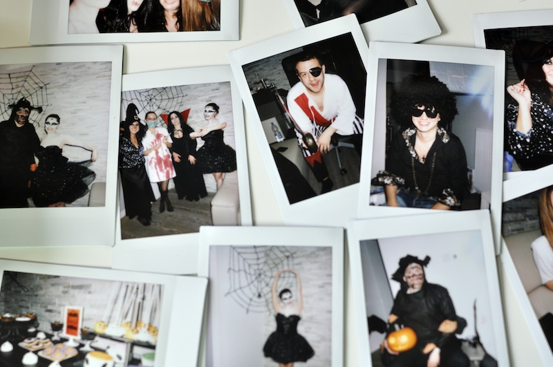 halloween party fujiinstax