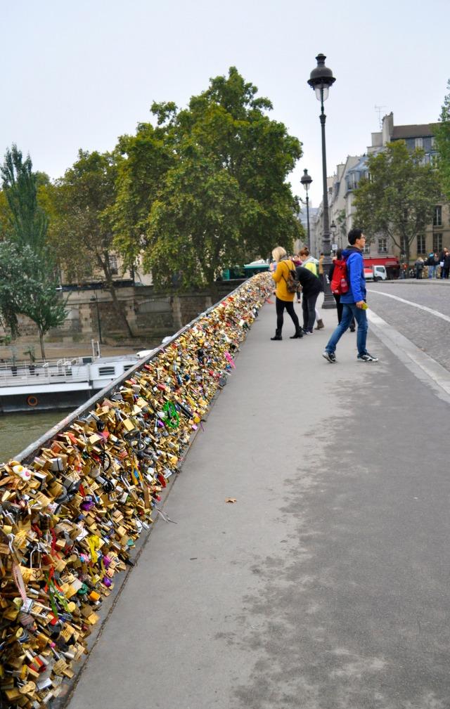 most zakochanych paryż