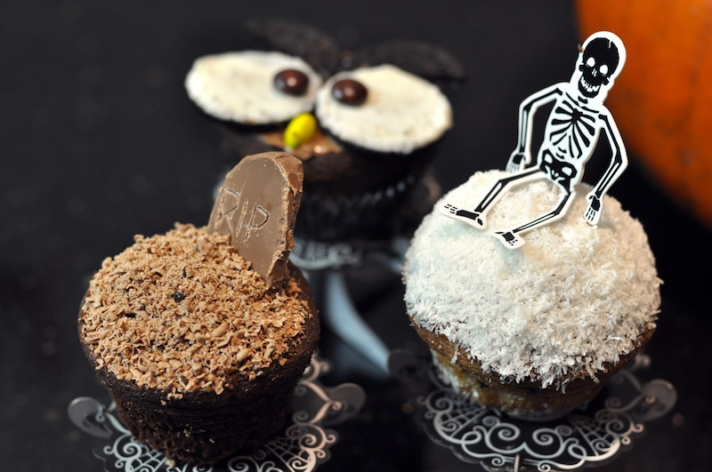 muffinki halloween
