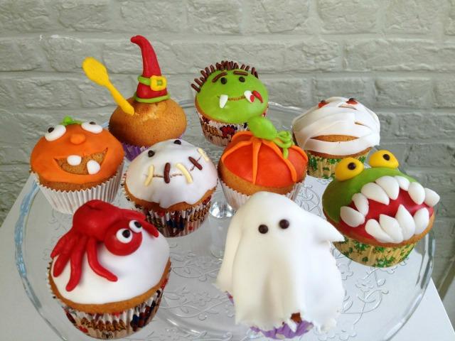 słodkości na halloween