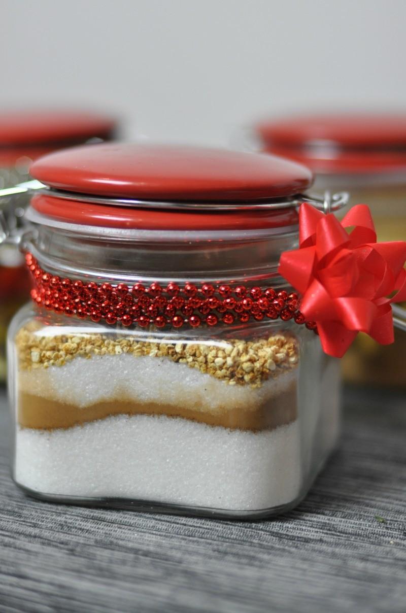 aromatyzowany cukier na prezent
