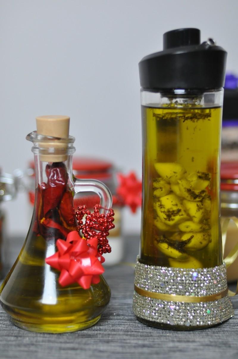 oliwa smakowa z czosnkiem