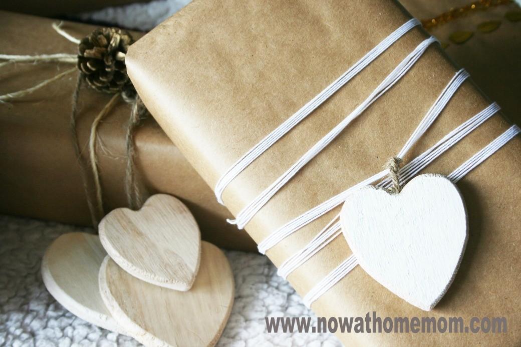 pakowanie prezentów papier do pieczenia
