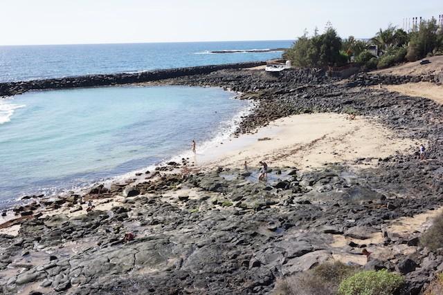 playa ancla plaża