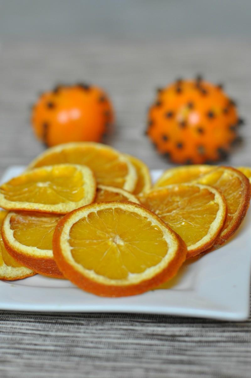 pomarańcza suszona plastry