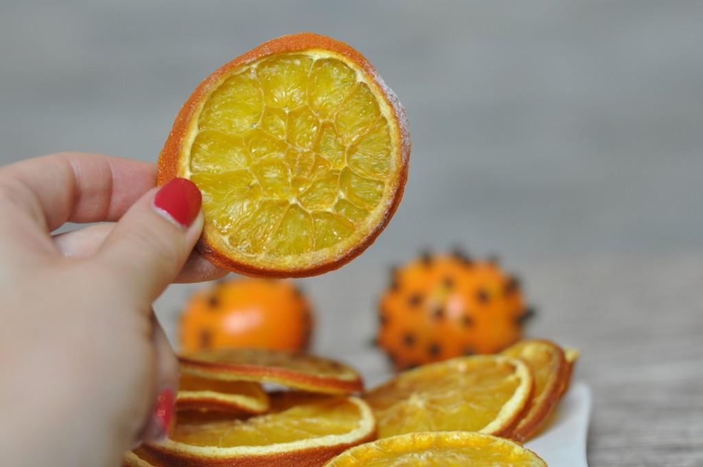 pomarańcze suszone