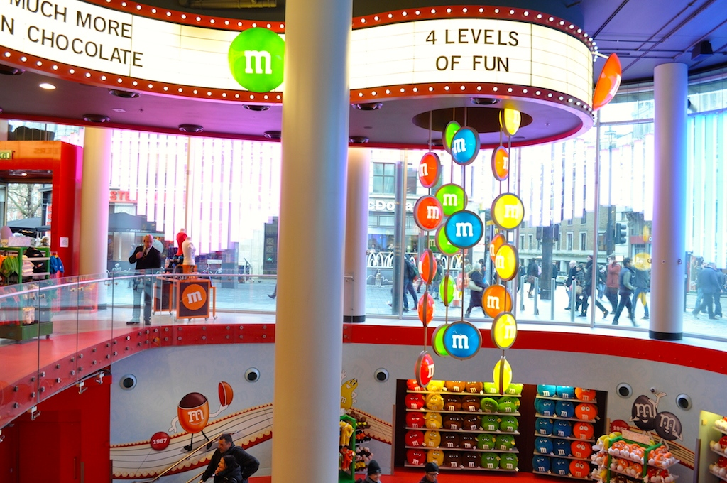 m&ms world londyn