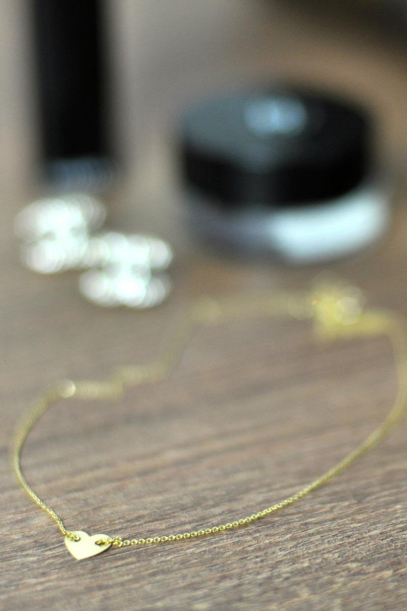 naszyjnik apart złote serduszko