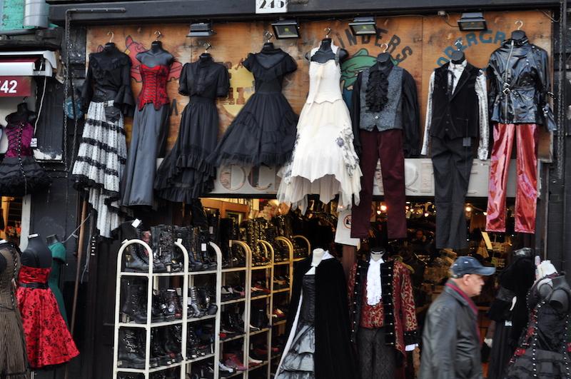 ubrania na camden Town