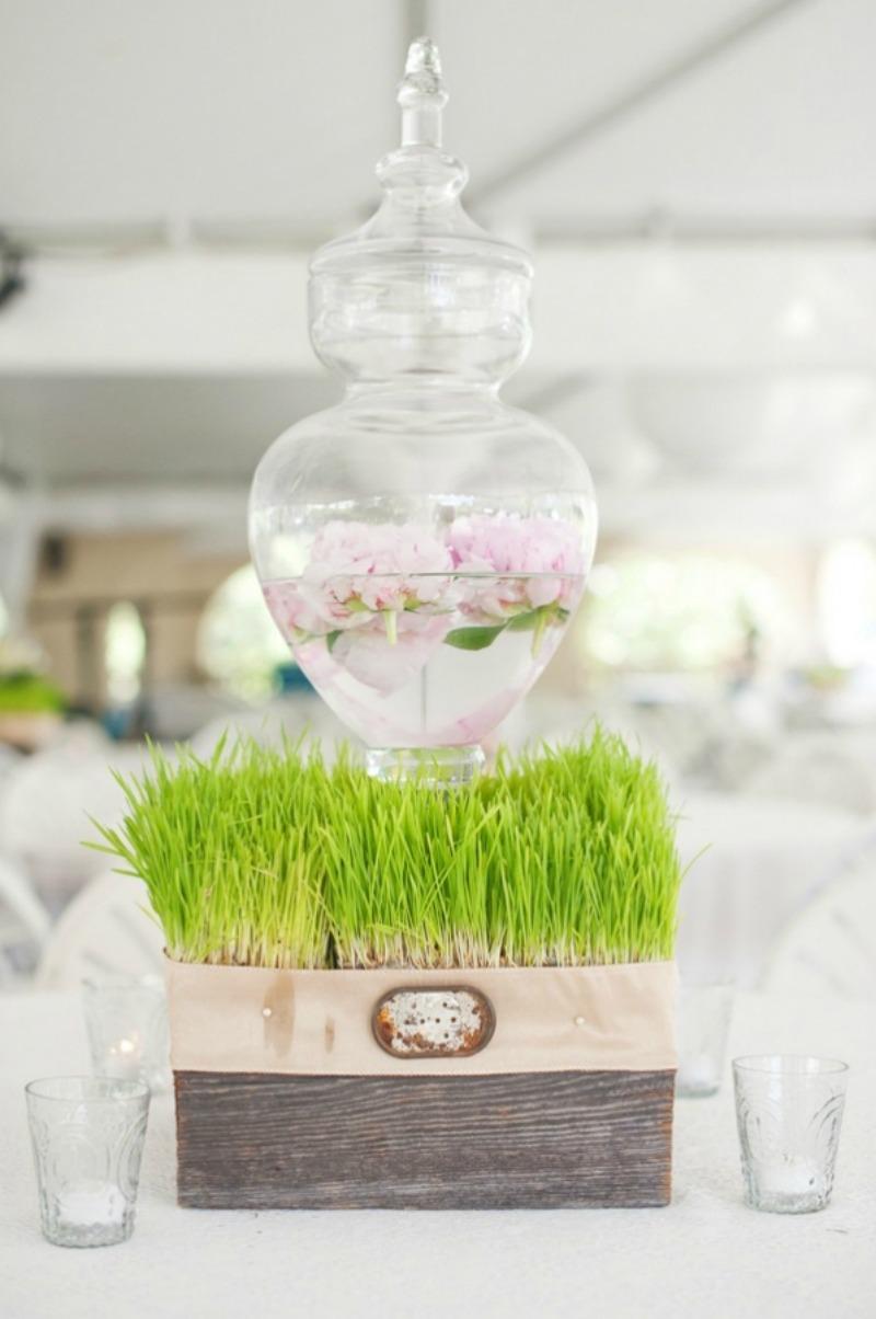 wesele trawa motyw