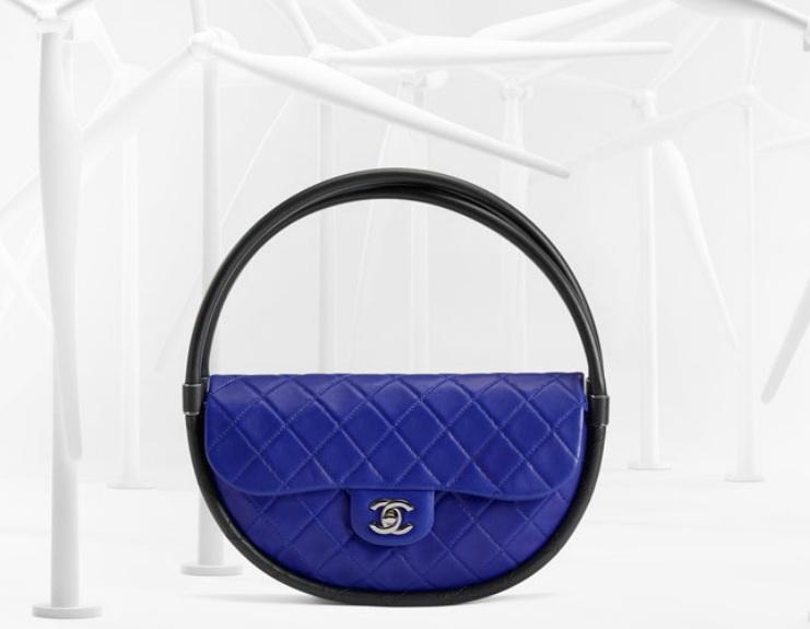 Chanel-Blue-Hula-Hoop-Bag-Spring-2013 3100 dolców