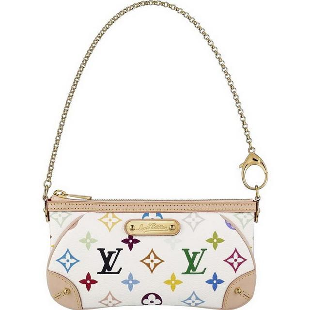 Louis Vuitton Milla Clutch MM Monogram multicolor 335f