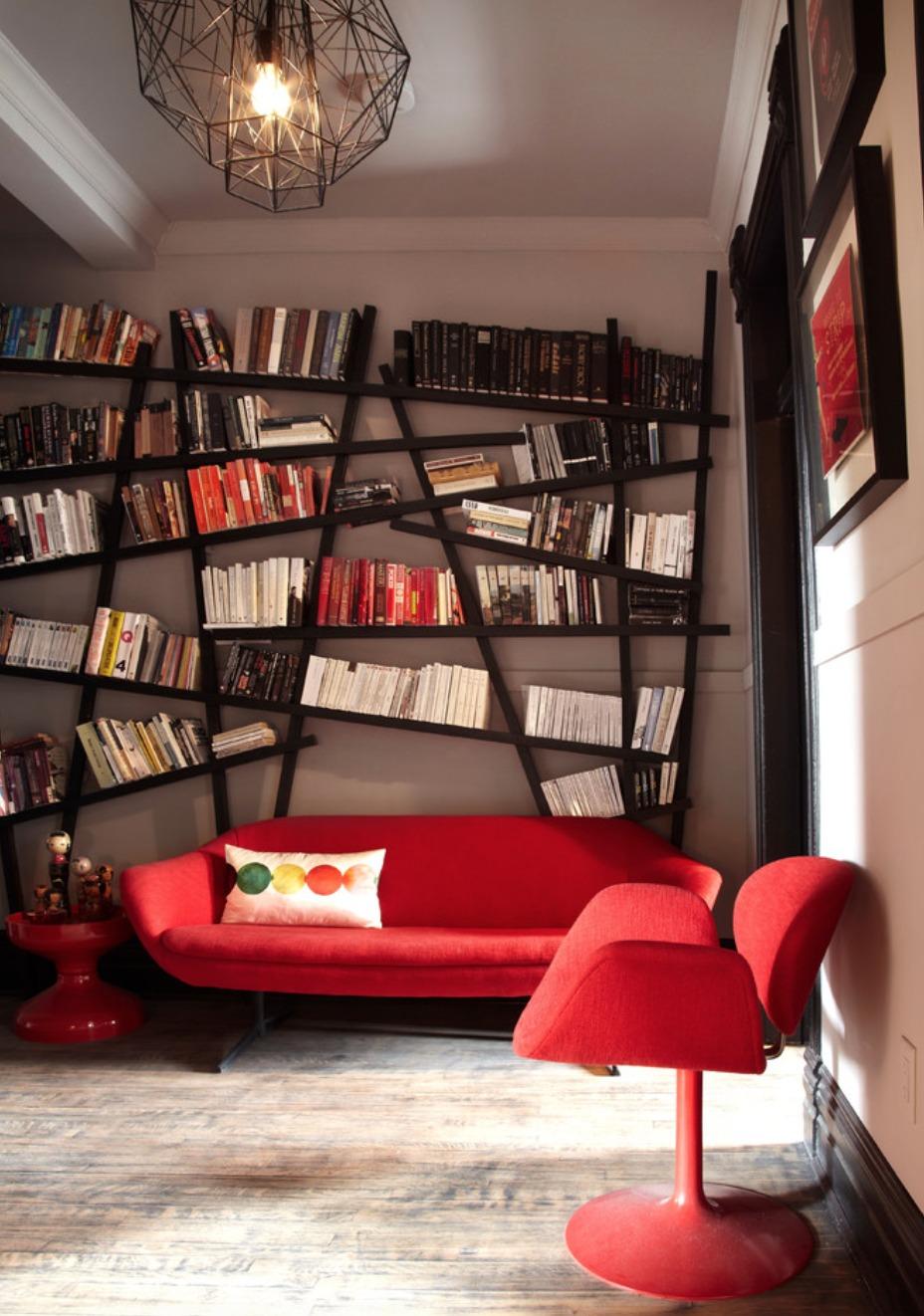 Pomysły Na Aranżacje Biblioteczki