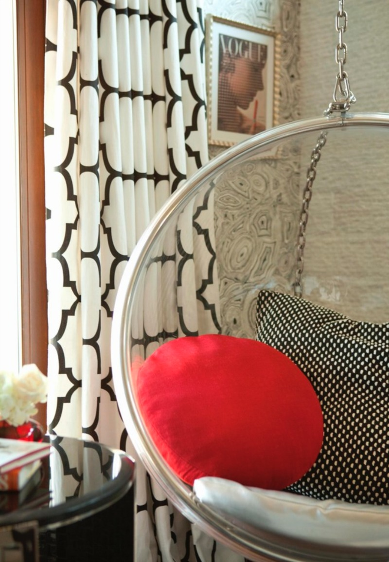 bubble chair poduszki