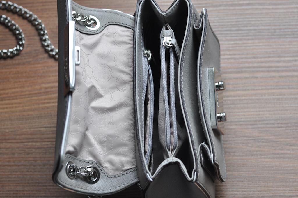 mk Sloan Specchio Shoulder Flap Bag