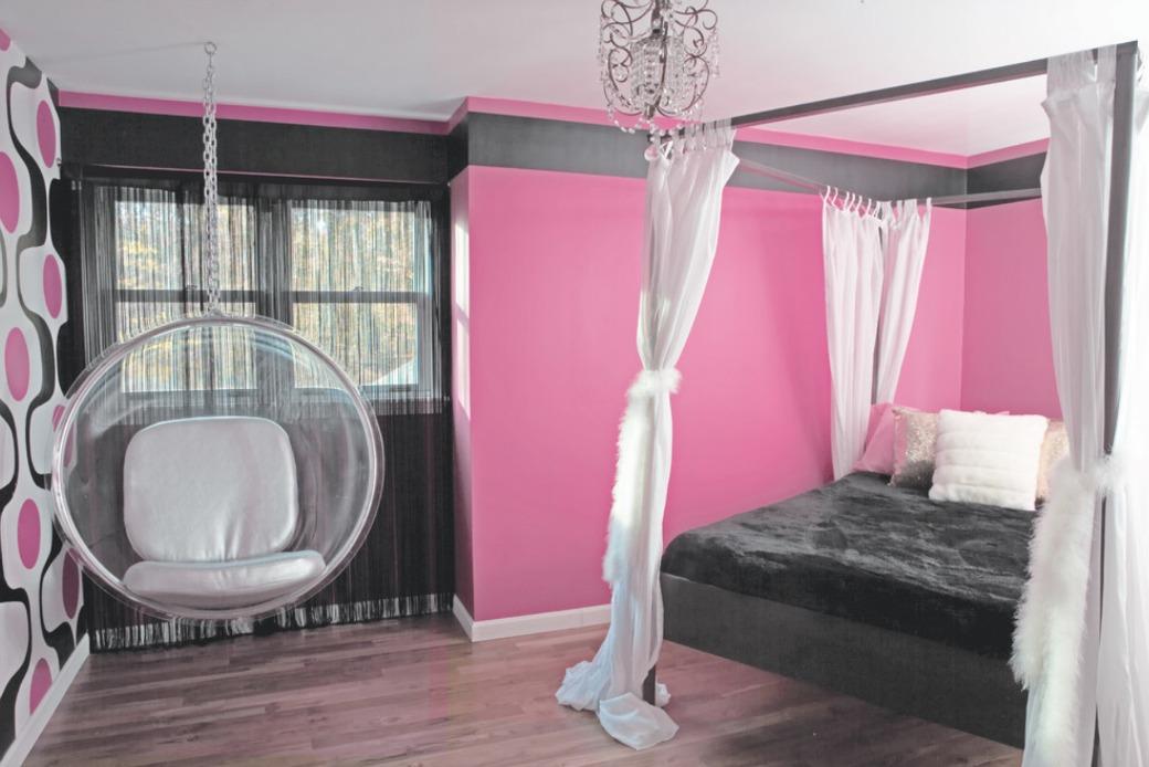 sypialnia bubble chair