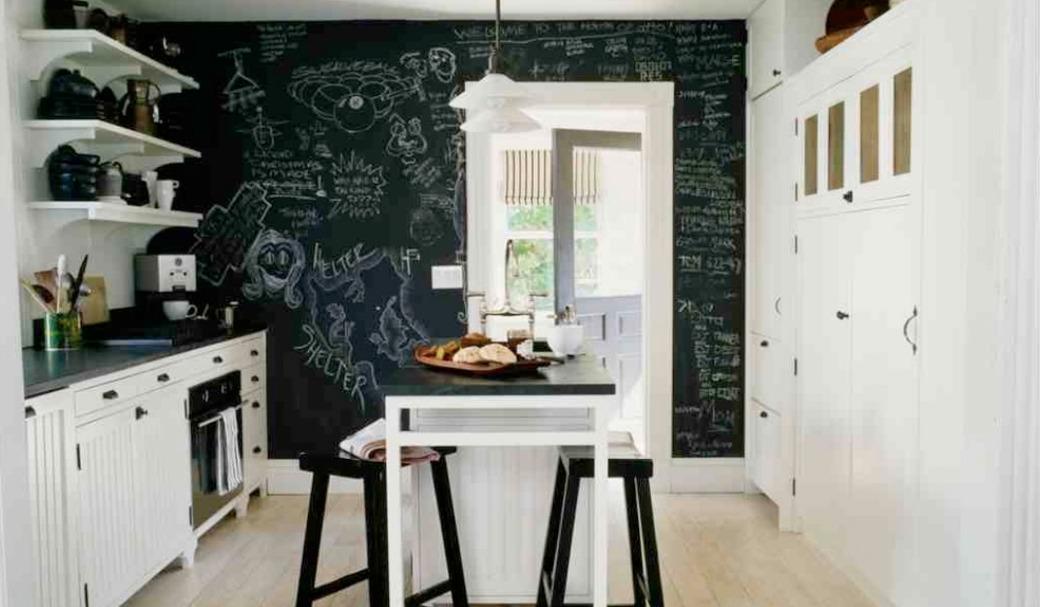 tablica magnetyczna w kuchni aranżacje