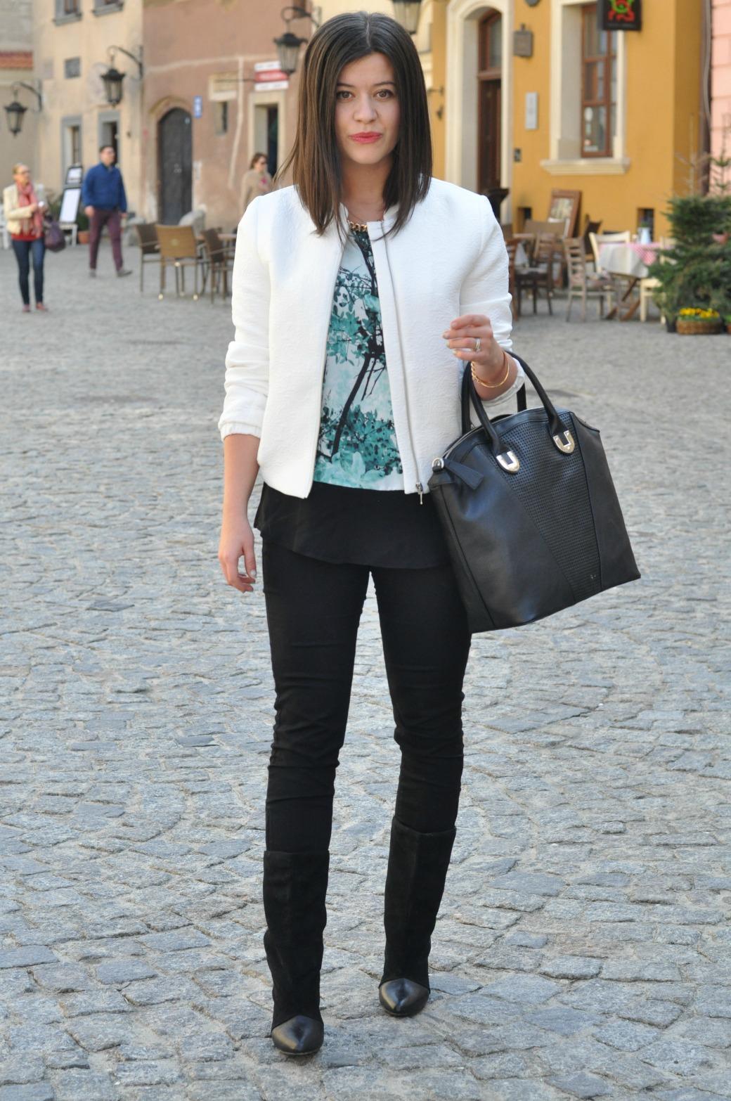Fashionelka Orsay stylizacja