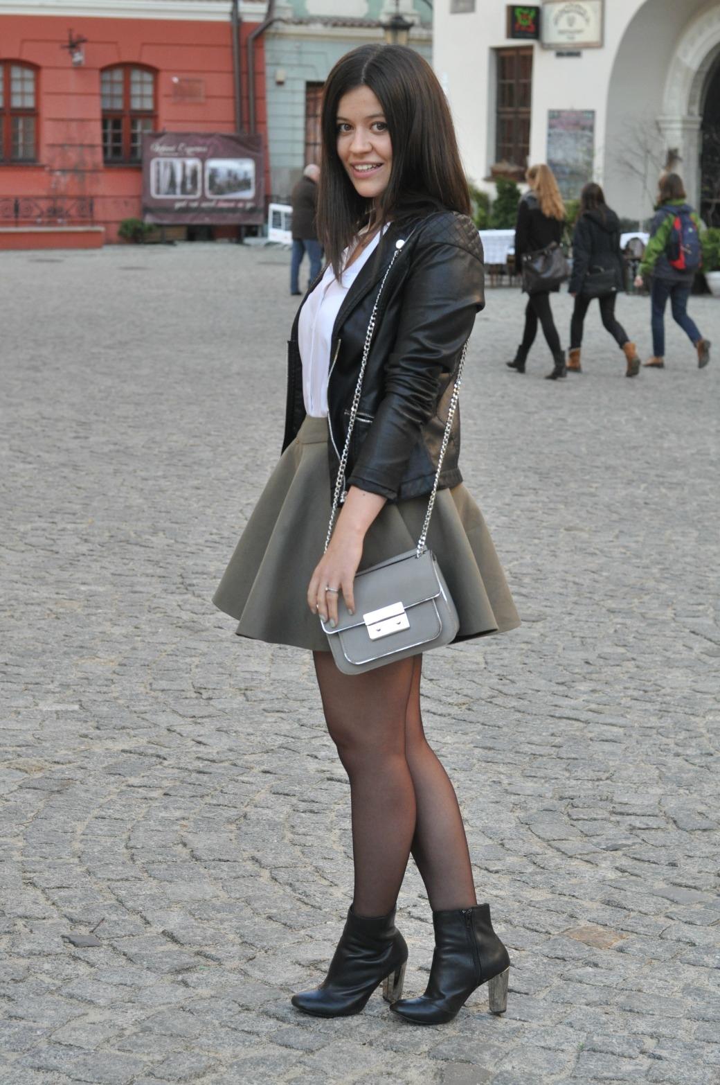 stylizacja spódnica simple