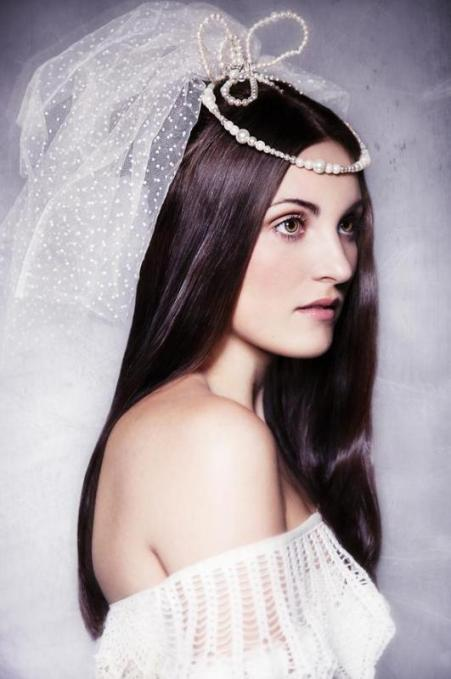 traditional-long-wedding-hairstyles-with-veil
