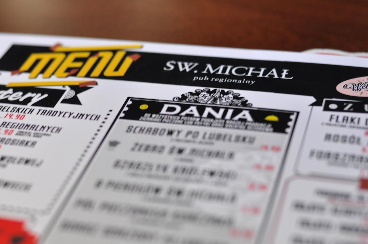 św michał menu