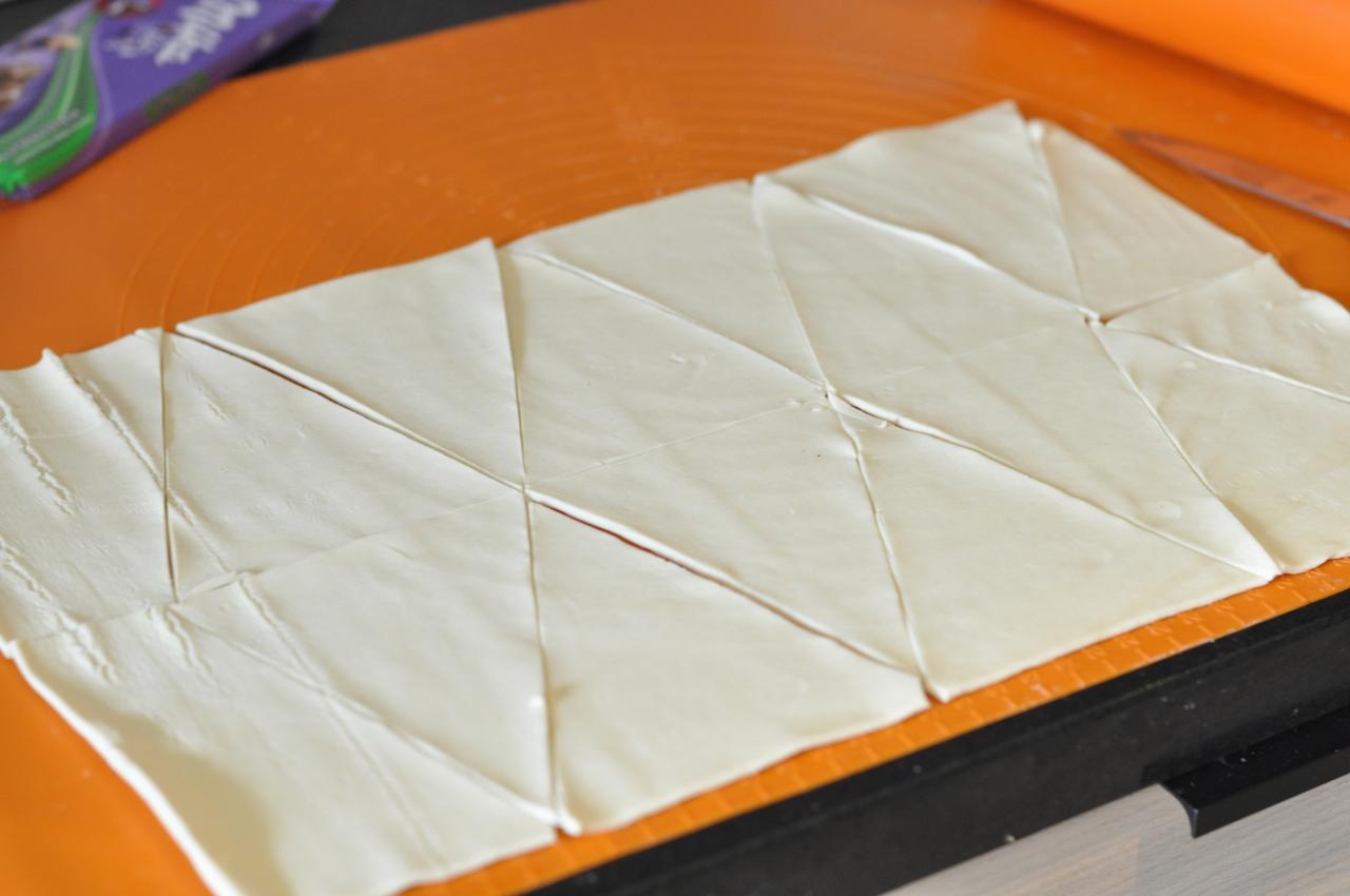 ciasto francuskie gotowe rogaliki