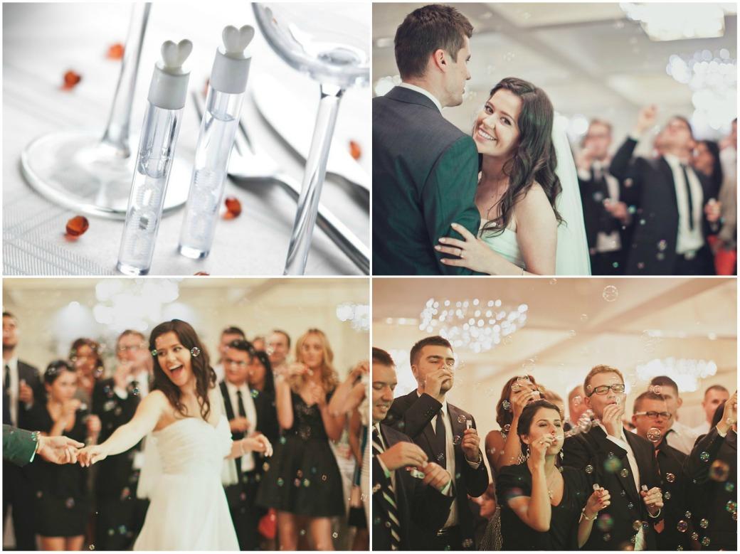 bańki mydlane na weselu