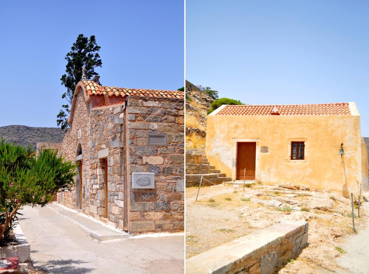 kościoły na Spinalonga