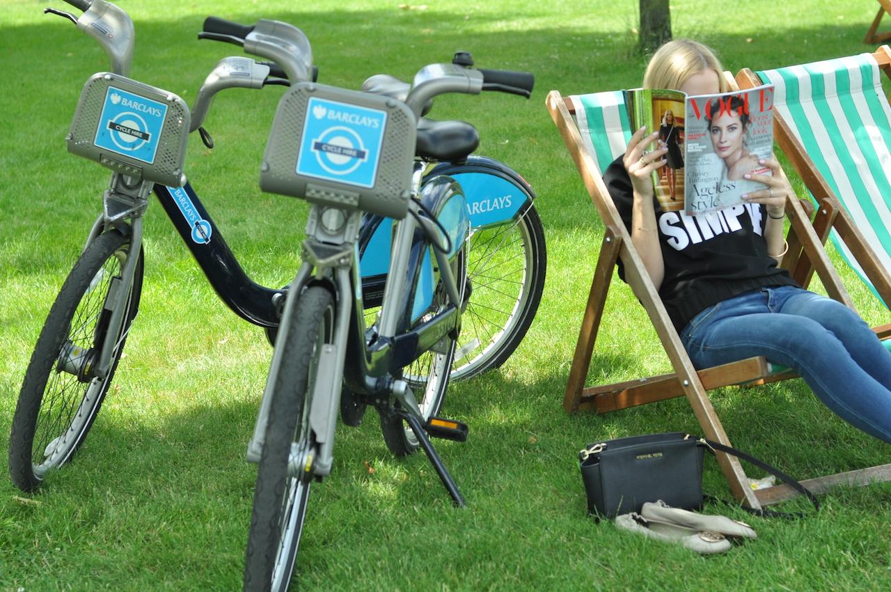 rowery miejskie Londyn