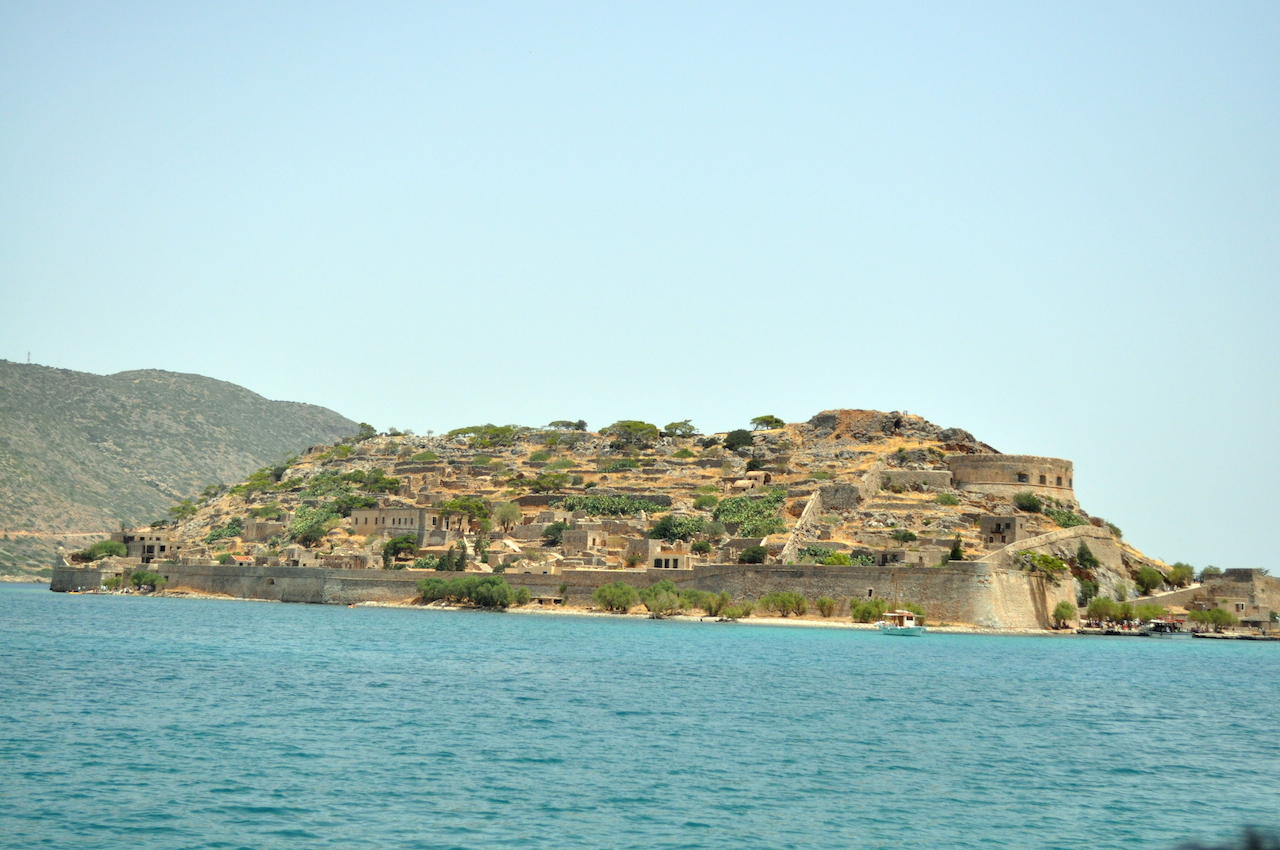 Spinalonga wyspa