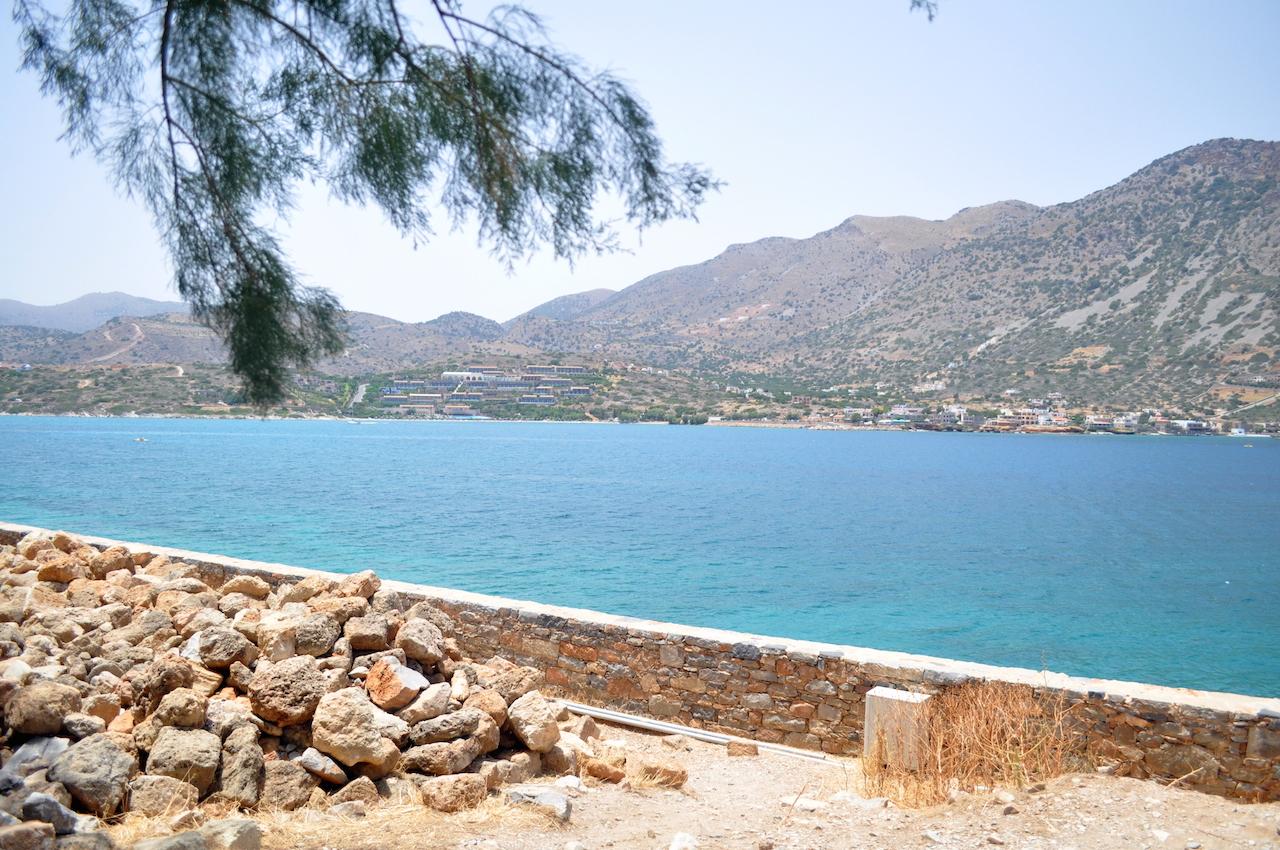 Kreta widziana z wyspy