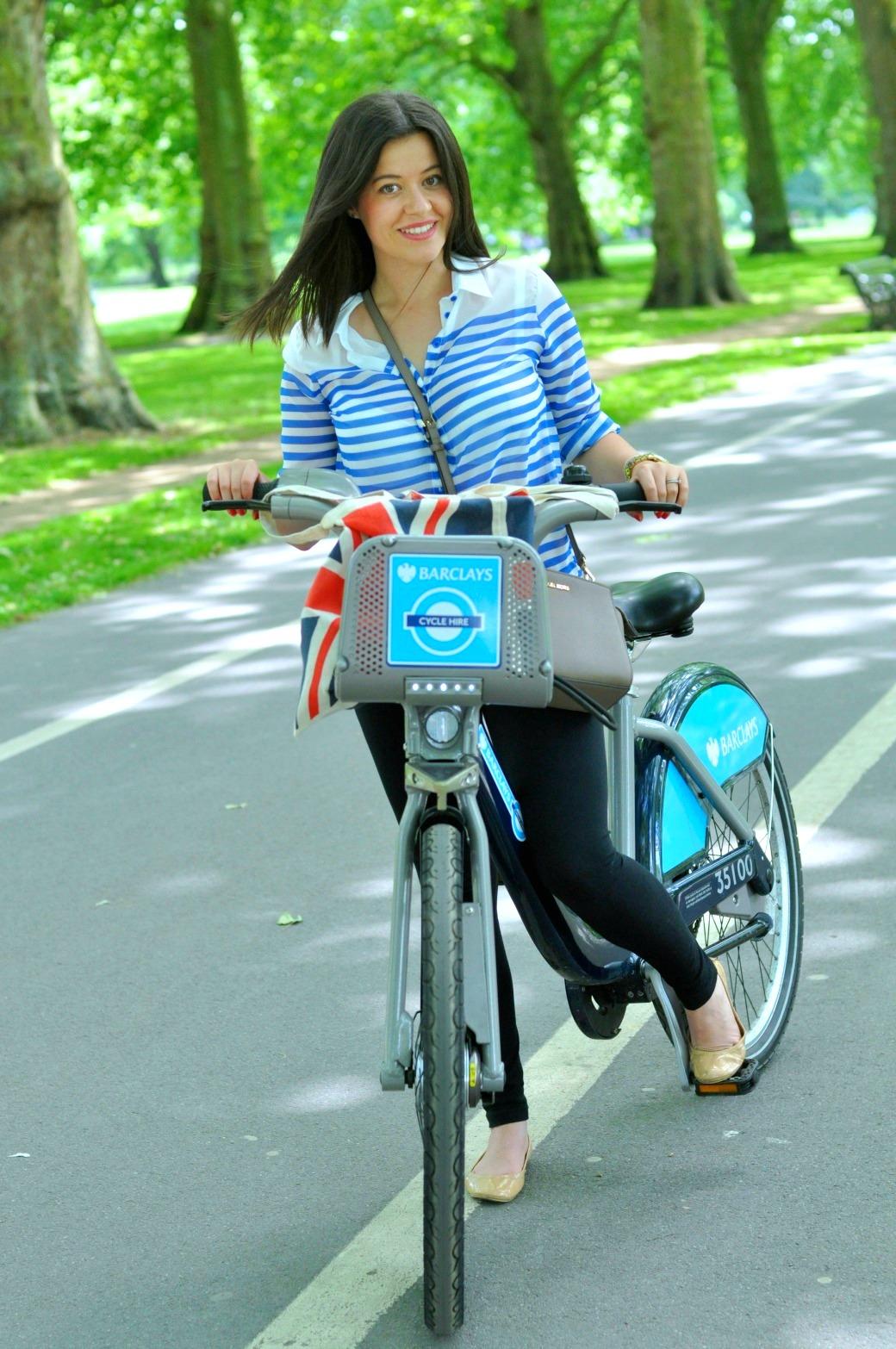 wyporzyczanie rowerów londyn