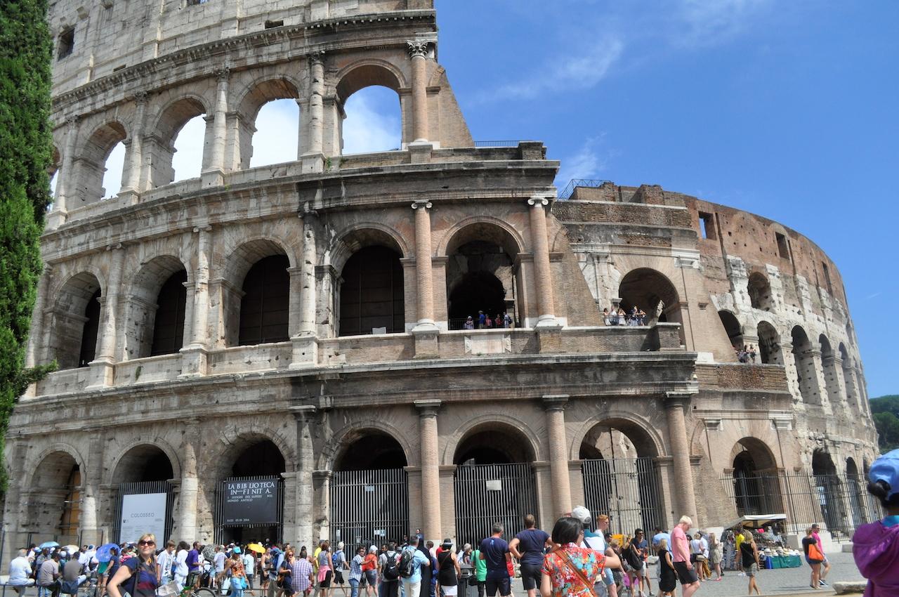 jogging w rzymie