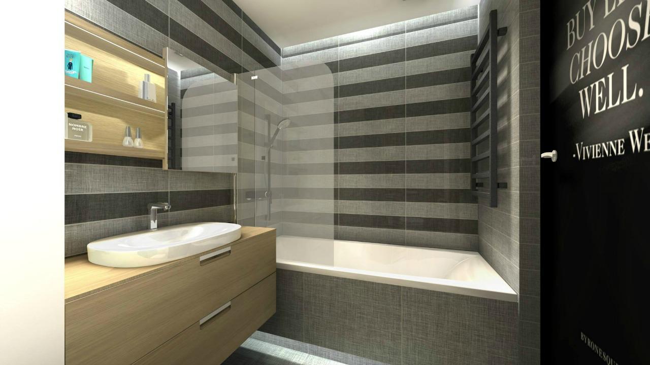 fashionelka projekt łazienki