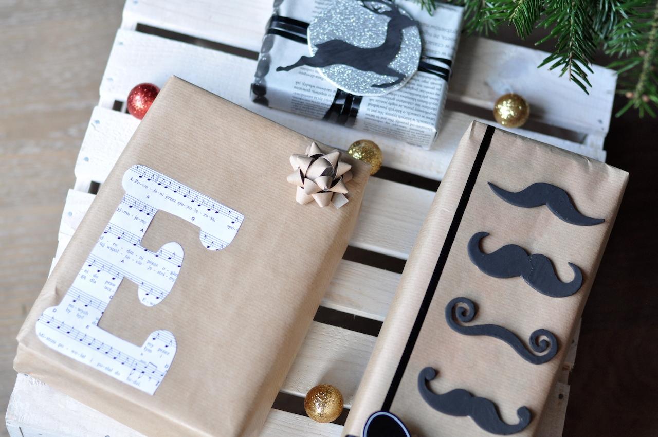 pakowanie prezentów nuty