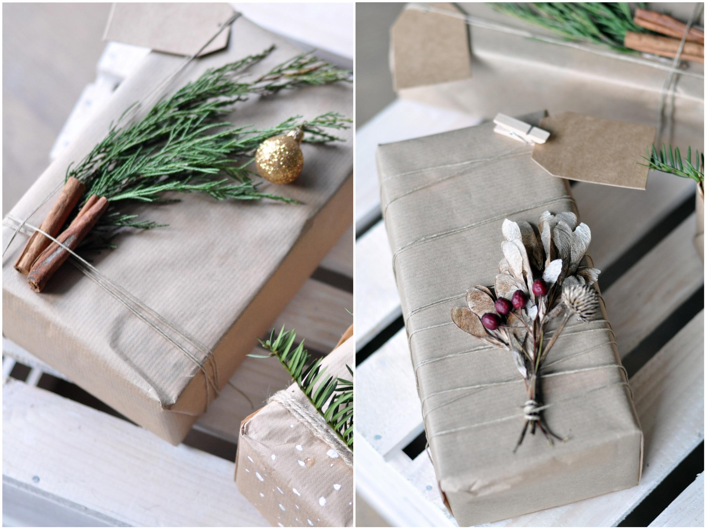 sposoby na dekorację prezentów