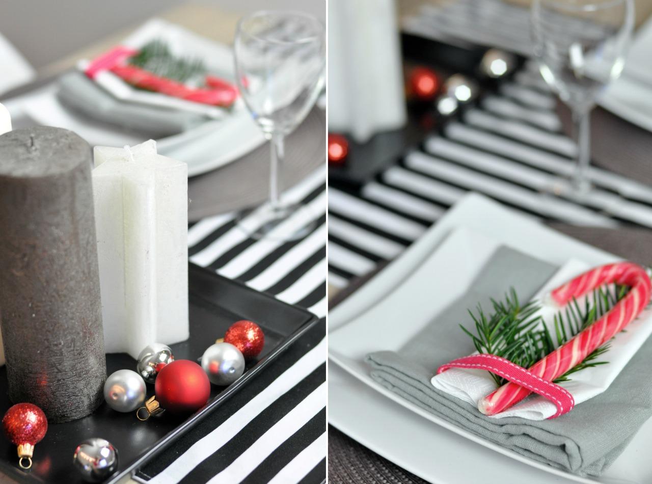 świąteczny stół dekoracje