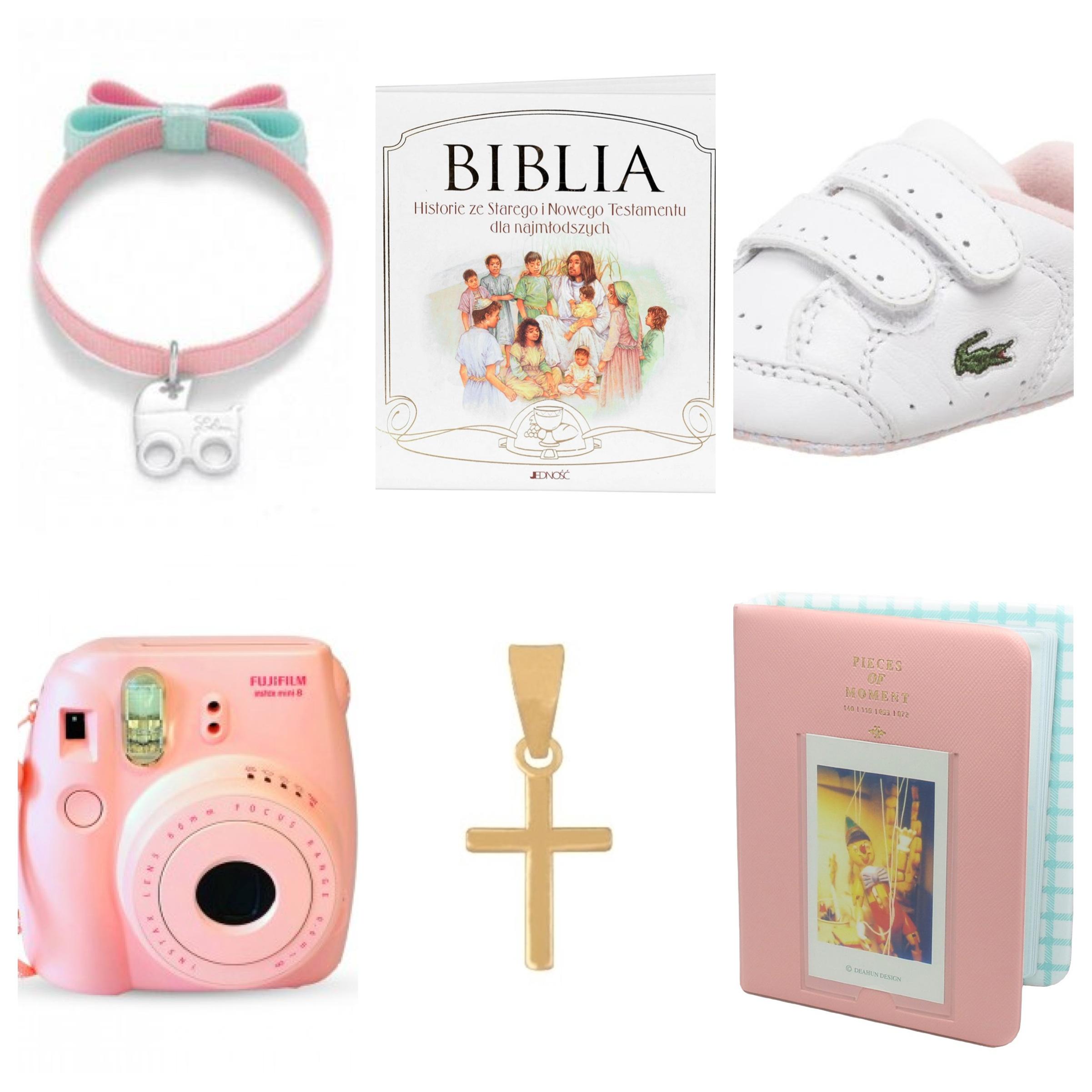 prezenty na chrzest