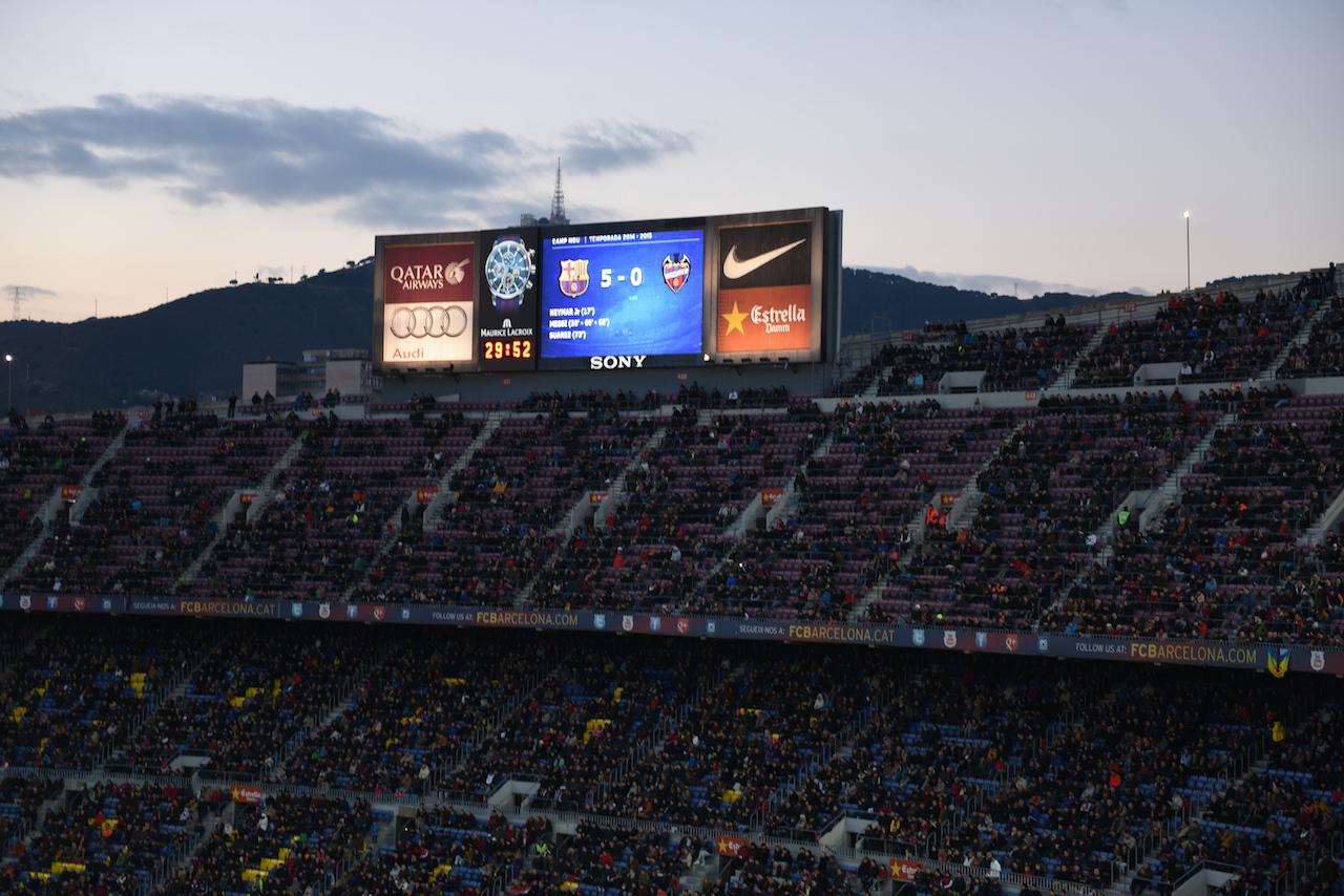 barcelona mecz
