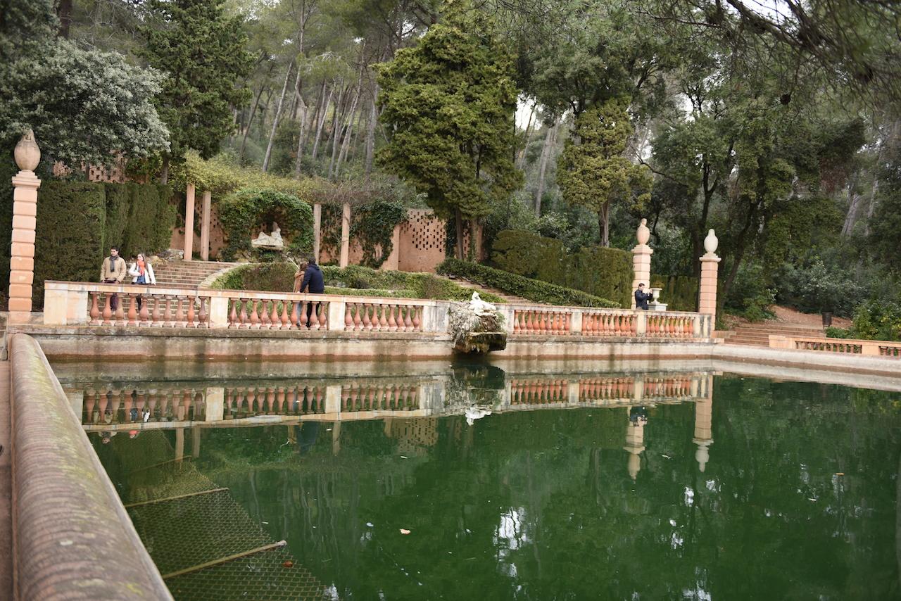 barcelona Parc del Laberint d'Horta
