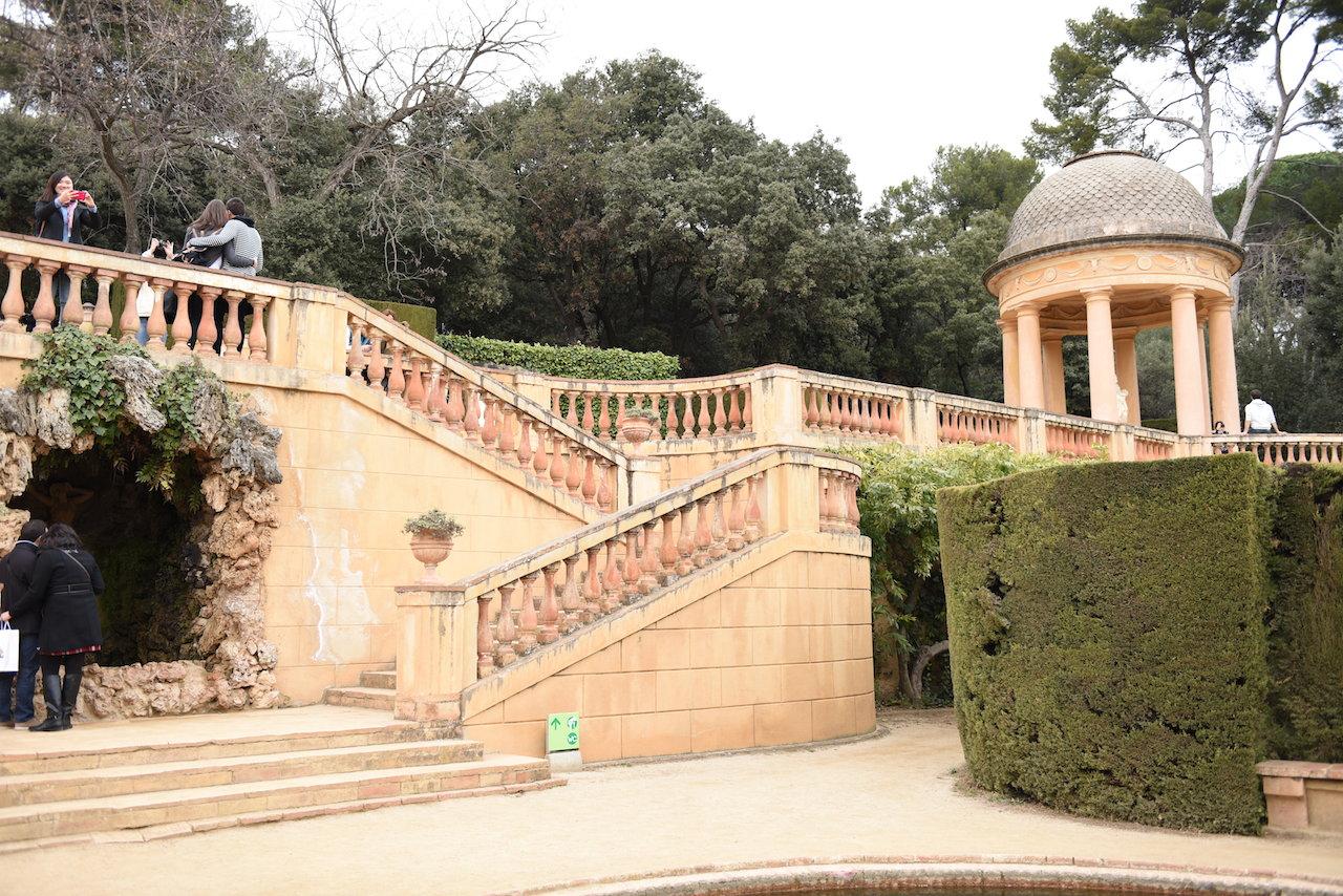 Barcelona zielony labirynt