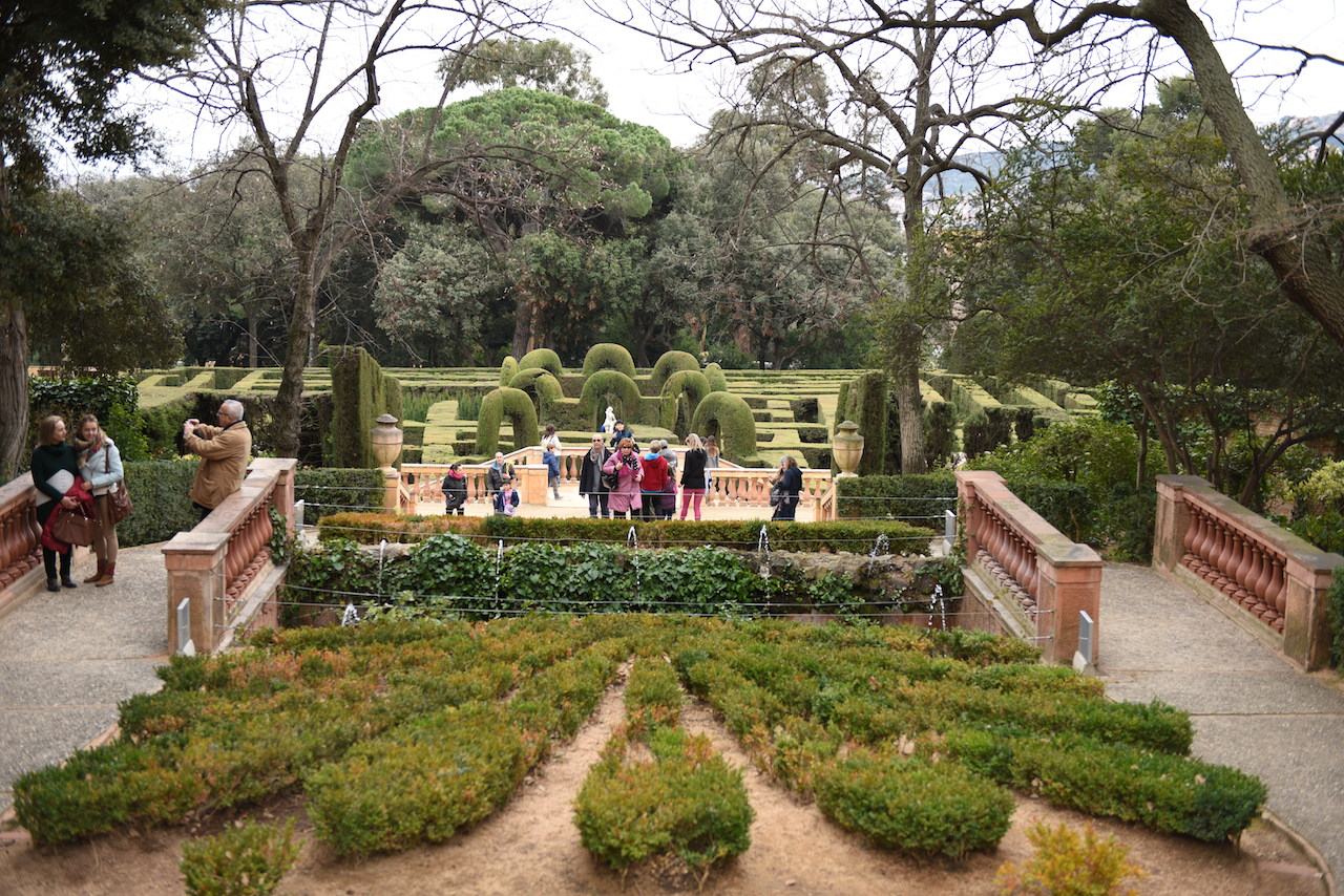 Parc del Laberint d'Horta zwiedzanie