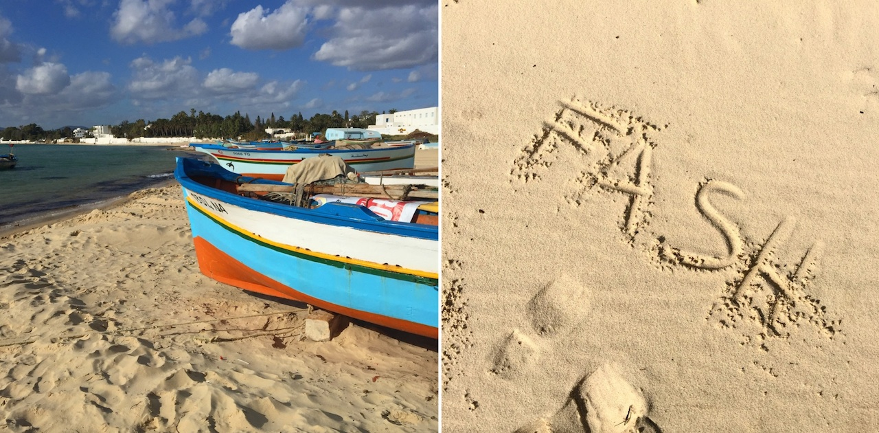 plaża tunezja Djerba
