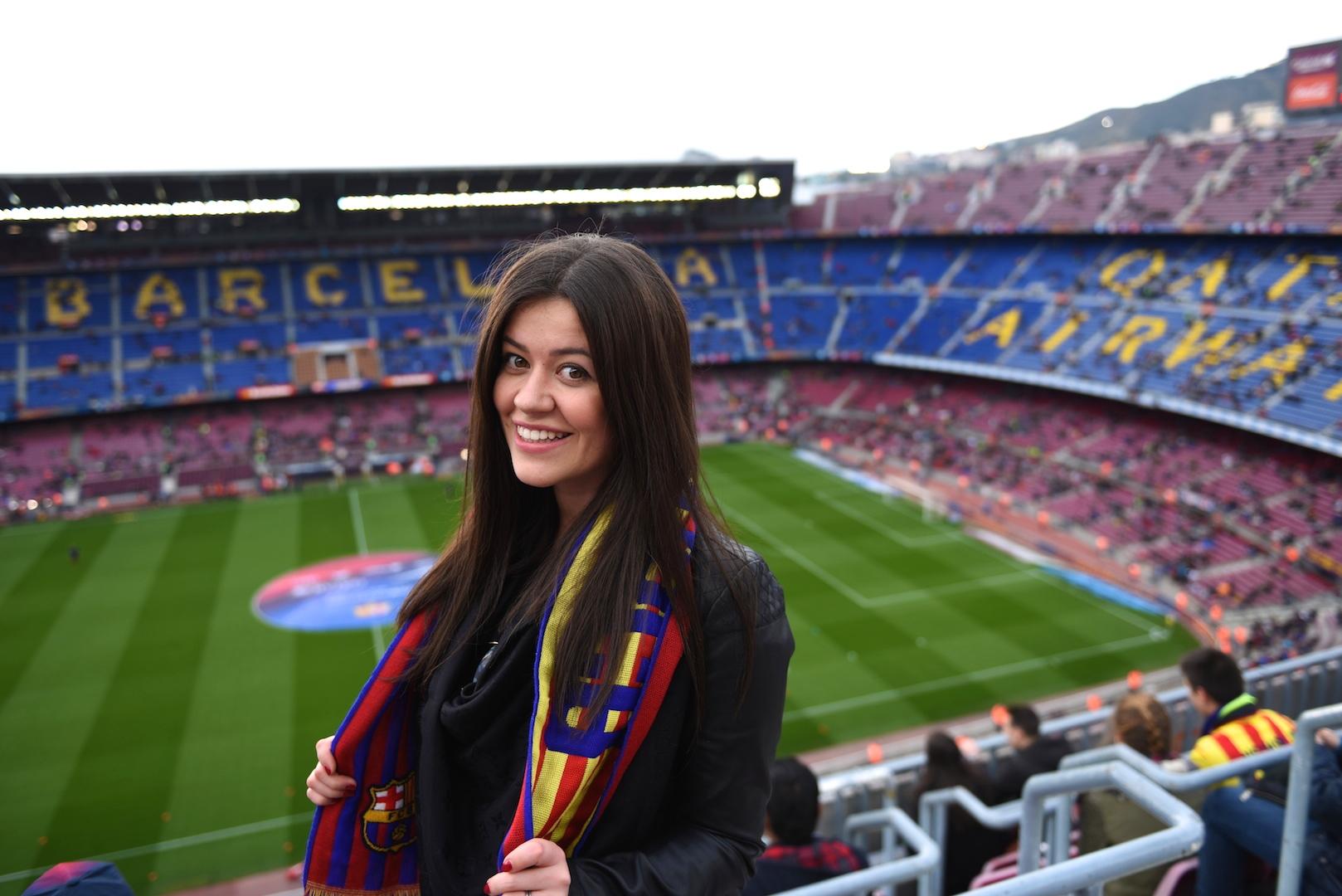 Stadion Camp Nou barcelona